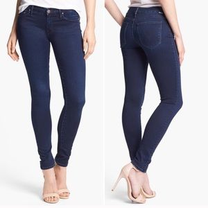 MOTHER The Looker Body Electric Skinny Jeans 29